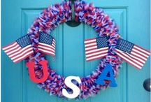 4th of July / Show your patriotic spirit this 4th of July Lots of great ideas for how to decorate your home, and things to cook, to celebrate Independence Day.