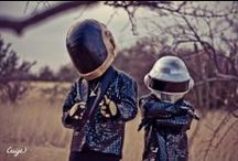 Lil' Daft Punk by Cuije / Lil' Daft Punk is playing at my house!