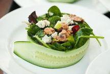 Au menu: salads