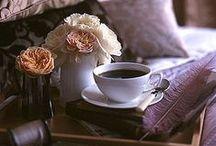 coffee&tea / about morning breakfast & five o'clock