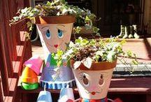 Jardin à petit prix avec de la récup / recycle gardening