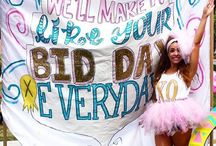 Rush Week / Everything from open house to bid day!