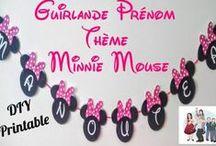 Thème Minnie Disney