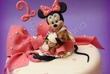 Gâteau thème Minnie de Disney / Minnie Cake