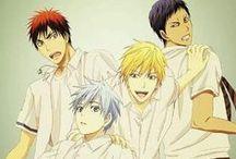 Kuroko no Basket (Kuroko&Kagami&Aomine&Kise) / Yaoi: Kuroko, Kagami, Aomine, Kise