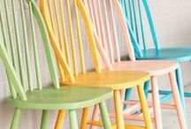 kreidefarbe   chalky paint / Super easy DIY-Ideen mit Kreidefarben: Upcycling schnell gemacht!  ❤︎ Easy DIY ideas with chalky paint: pimp up your furniture!