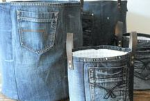 upcycling   jeans / Aus der alten Lieblings-Jeans was Neues machen: Portemonnaie, Tasche, Kissen – es gibt 100 gute Ideen. Upycling in Blau!  ❤︎ Upcycle your jeans: make it a clutch, a cushion or a fancy tablet sleeve. Put your blue jeans on!