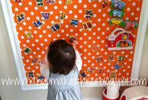 Play & Learn ;) / Ideas for In & Out of the Playroom!