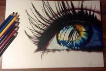 Artsty / Hey I like to draw so. / by Maddy Fowler