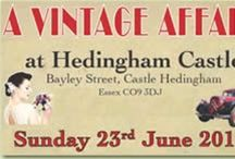 A Vintage Affair Castle Hedingham 2013 / I love my website www.ruralmagpie.co.uk Where Rural Magpie had a Stall - a great event