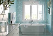 Bathroom Design Ideas / Fun design ideas for every bathroom - big, small, classic, unique and more!