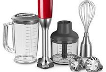 KitchenAid 5 Speed Hand Blender / Powerful blending, chopping and mixing in the palm of your hand
