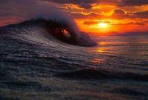 Il Mare, gli Oceani del Mondo / La mia passione per il Mare, i selvaggi Oceani. La natura blu del Mondo.