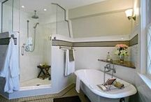 Showers and Bathtubs / Beautiful shower and bath ideas from the experts at Re-Bath!