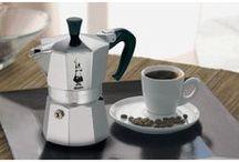 Bialetti / The original aluminium stove-top espresso maker and a style icon from the golden age of Art Deco design.