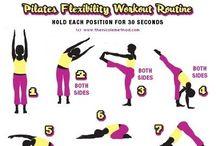 Exercise for your body - Liikettä kehoon / Yoga, stretching, etc. - Joogaa, venyttelyä ja muuta liikettä kehon parhaaksi.