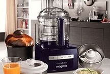 Magimix / As well food processors Magimix manufacture a comprehensive range of kitchen electricals