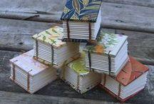 Book binding - Kirjansidonta / Tips and ideas for book binding from all ovet the world. Maailmalta koottuja vinkkejä ja ideoita kirjansidontaan.
