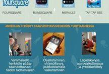 Improving Services' Accessibility with Mobile - Mobiilit palveluiden saavutettavuuden edistämisessä (KUPS-pilotti) / Mobile apps are very useful in increasing service accessibility. We tried these apps and other technical aids with 3 blind and 3 physically disabled people. We focused on cultural services' accessibility of Verkatehdas in Hämeenlinna.  Mobiilisovellukset ovat varsin hyödyllisiä palveluiden saavutettavuuden edistämisessä. Kokeilimme näitä mobiilisovelluksia ja teknisiä apuvälineitä kolmen sokean ja kolmen liikuntavammaisen henkilön kanssa. Kohteenamme oli kulttuuripalveluiden saavutettavuus.