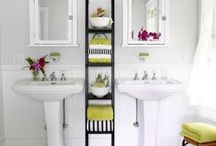 Bathroom Organization Ideas / Get your home and bathroom organized with these ideas and tips!