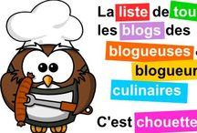 CUISINE Sites et blogs de recettes / by Cokocinel