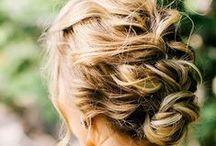 Hair and hairdo / Penteados, cores e cortes de cabelo para se inspirar