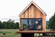 ☛ Cabanes, Tiny Houses et Caravanes ☚