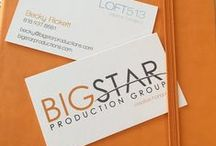 BUSINESS CARDS - BSP /  Graphics by Big Star Production Group
