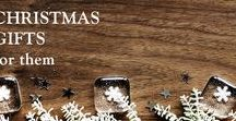 Christmas Gift Guide - Gifts for Them / Christmas Gift Guide - Gifts for Them