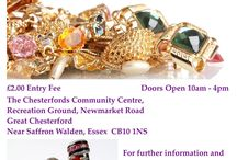 Jewellery Fair 3 March 2018 / pop along and meet these Exhibitors at the jewellery fair The Chesterfords Community Centre, Gt Chesterford Nr Saffron Walden Essex CB10 1NS