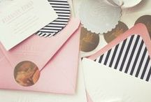 DESIGN :: invitations & cards / by all things happily