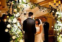 Weddings We've Designed / From hanging Chuppahs, long lush flowers and lavish sweetheart tables, we've made wedding flowers and event design our speciality.
