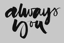 Typography * Lettering / by Natalia Delgadillo