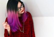 the Color / Inspiration for color treated hair