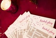 Bridal Shower Games / by Pauleenanne Design