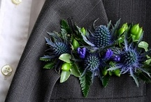 Bridal Party Flowers / Other than the lovely bridal bouquets, there are many clever ways to style up the groom, groomsmen, flower girl, ringbearers and parents of the bridal couple...
