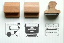 -.- stamps and accessories -.- / by Underwood Letterpress