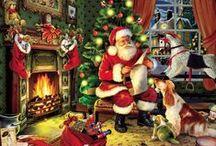 Holiday Jigsaw Puzzles / Holiday Jigsaw Puzzles.  Christmas Jigsaw Puzzles.  Winter Scene Jigsaw Puzzles.
