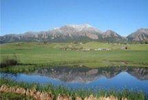 Flatirons Boulder CO / Mountains and summer time fun