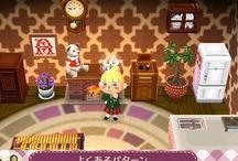 Pattern 壁紙など Animal Crossing QR Codes / Animal Crossing New Leaf: My design QR Codes とびだせ どうぶつの森 amiibo+ QRコード