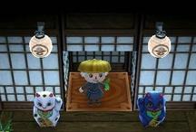Japan 和風 Animal Crossing QR Codes / Animal Crossing New Leaf: My design QR Codes とびだせ どうぶつの森 amiibo+ QRコード