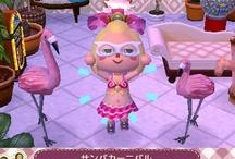 Fashion 服 Animal Crossing QR Codes / Animal Crossing New Leaf: My design QR Codes とびだせ どうぶつの森 amiibo+ QRコード