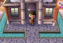 Ground 地面 Animal Crossing QR Codes / Animal Crossing New Leaf: My design QR Codes とびだせ どうぶつの森 amiibo+ QRコード