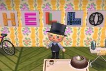 Letter Animal Crossing QR Codes / Animal Crossing New Leaf: My design QR Codes とびだせ どうぶつの森 amiibo+ QRコード