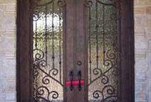 Exterior Art / Exterior Doors can change the look of your home!