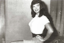 """The Girl Next Door / In the moralistic '50s, a raven-haired beauty shocked the world with her saucy poses.  Her """"girl next door"""" look and innocent smile only complemented that explosive combination of features."""