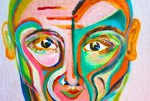Painted Portraits of People