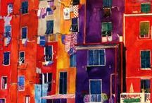 Painted City Scapes