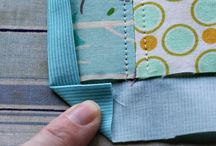 Hanging sleeves and bindings labels / by Alyce Foster