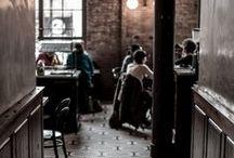 PLACES & SPACES / Cool cafes, restaurants, bars, building & open spaces